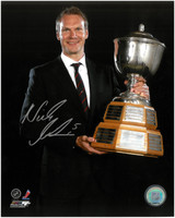 Nicklas Lidstrom Autographed Detroit Red Wings 8x10 Photo #9