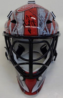 Dominic Hasek Autographed Detroit Red Wings Mini Goalie Helmet