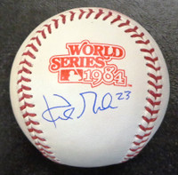 Kirk Gibson Autographed Baseball - Official 1984 World Series Ball