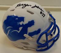 Kerryon Johnson Autographed Detroit Lions AMP Mini Helmet