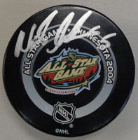 Nicklas Lidstrom Autographed 2004 All Star Game Puck