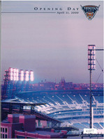 Comerica Park Inaugural Game Program - Embossed Limited Edition