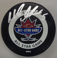 Nicklas Lidstrom Autographed 1998 All Star Game Puck