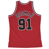 Dennis Rodman Autographed Mitchell & Ness Chicago Bulls Jersey - Road 1997-98 (Pre-Order)