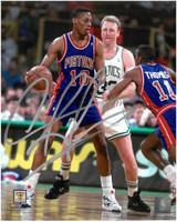 Dennis Rodman Autographed Detroit Pistons 8x10 Photo #3