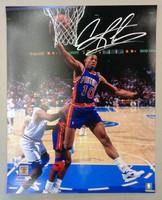 Dennis Rodman Autographed Detroit Pistons 16x20 Photo