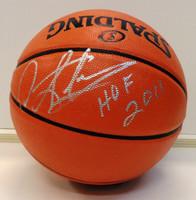 """Dennis Rodman Autographed Indoor/Outdoor Basketball w/""""HOF 2011"""" Inscription"""