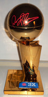"Dennis Rodman Autographed Detroit Pistons Fanatics 3-Time NBA Finals Champions 12"" Replica Trophy"