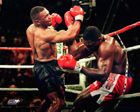 Mike Tyson Autographed 8x10 Photo #3 - Upper Cut on Bruno (Pre-Order)