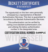 Pete Rose Autograph - Add Beckett Authentication (Pre-Order)
