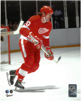 Vaclav Nedomansky Autographed 8x10 Photo #1 - Red Wings Color (Pre-Order)