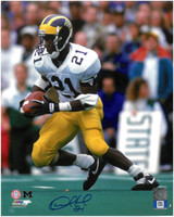 Desmond Howard Autographed Michigan Wolverines 8x10 Photo #2