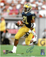 Desmond Howard Autographed Michigan Wolverines 8x10 Photo #3