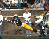Desmond Howard Autographed Michigan Wolverines 8x10 Photo #4
