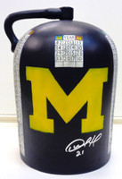 Desmond Howard Autographed Michigan/Wisconsin Rivalry Trophy Little Brown Jug