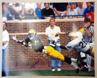 Desmond Howard Autographed Michigan Wolverines 16x20 Photo #2