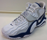 Barry Sanders Autographed Nike Limited Edition Detroit Lions Air Zoom Turf Jet '97 Shoe - Left