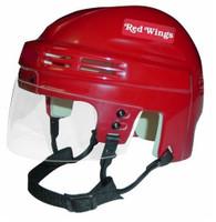 Brett Hull Autographed Detroit Red Wings Mini Helmet - Red (Pre-Order)