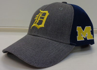 Detroit Tigers SGA University of Michigan Adjustable Snapback Hat
