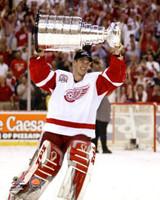 Dominik Hasek Autographed 8x10 Photo #1 - 2002 Stanley Cup (Pre-Order)