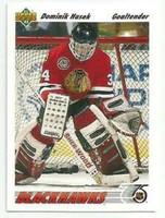Dominik Hasek Autographed 1991/92 Upper Deck Rookie Card (Pre-Order)