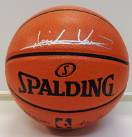Isiah Thomas Autographed Spalding Indoor/Outdoor Basketball