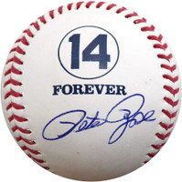 Pete Rose Autographed Official MLB Forever 14 Baseball (Pre-Order)