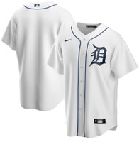 Detroit Tigers Men's Nike White Home 2020 Replica Team Jersey
