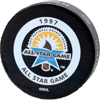 Dominik Hasek Autographed 1997 All Star Game Official Game Puck (Pre-Order)