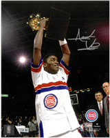 Isiah Thomas Autographed Detroit Pistons 8x10 Photo #3 (Pre-Order)
