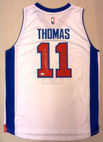 Isiah Thomas Autographed Adidas White Replica Jersey (Pre-Order)