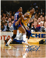 Isiah Thomas & Magic Johnson Autographed 8x10 Photo (Pre-Order)