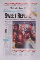 Isiah Thomas Autographed 1990 FP 16x24 Poster - Sweet Repeat (Pre-Order)
