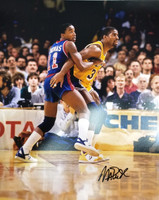 Isiah Thomas & Magic Johnson Autographed 16x20 Photo (Pre-Order)