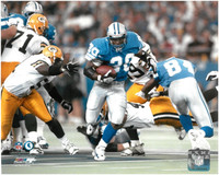 Barry Sanders Autographed 8x10 Photo #4 - Blue Jersey vs. Packers (Pre-Order)