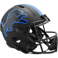 Barry Sanders Autographed Detroit Lions Riddell Full Size Replica Eclipse Speed Football Helmet (Pre-Order)