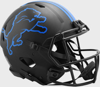 Barry Sanders Autographed Detroit Lions Riddell Full Size Authentic Eclipse Speed Football Helmet (Pre-Order)
