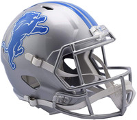 Barry Sanders Autographed Detroit Lions Riddell Full Size Replica Speed Football Helmet (Pre-Order)