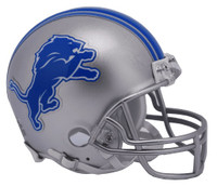 Barry Sanders Autographed Detroit Lions Riddell Mini Football Helmet (Pre-Order)
