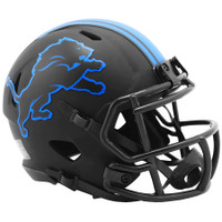Barry Sanders Autographed Detroit Lions Riddell Eclipse Mini Football Helmet (Pre-Order)