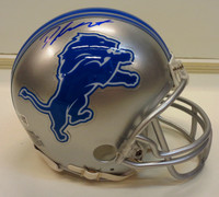 D'Andre Swift Autographed Detroit Lions Mini Helmet