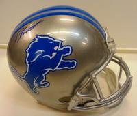 D'Andre Swift Autographed Detroit Lions Full Size Replica Helmet