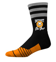 Detroit Bad Boys Classic Crew Socks - Black