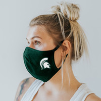 Michigan State University Blue 84 Adult Face Cover