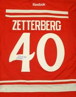 Henrik Zetterberg Autographed 2014 Winter Classic Premier Jersey