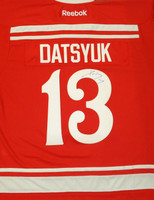 Pavel Datsyuk Autographed 2014 Winter Classic Premier Jersey