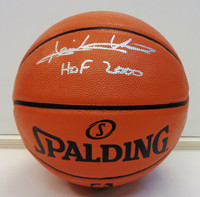 "Isiah Thomas Autographed Spalding Indoor/Outdoor Basketball w/ ""HOF 2000"""