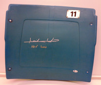 "Isiah Thomas Autographed Pontiac Silverdome #11 Seatback inscribed ""HOF 2000"""
