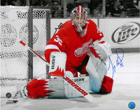 Jimmy Howard Autographed Detroit Red Wings 16x20 Photo #2 - Spotlight