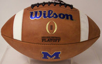 Charles Woodson Autographed Michigan Wolverines Authentic College Football (Pre-Order)